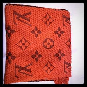 Louis Vuitton Logomania Scarf (Orange)